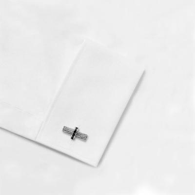 cufflinks with black diamonds