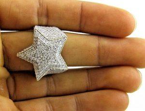 5ct white diamond hiphop ring (5)