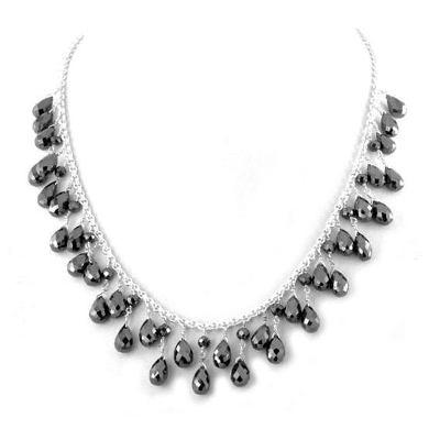Briolette cut Bead diamond jewelry