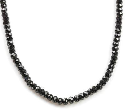 black diamond faceted diamonds