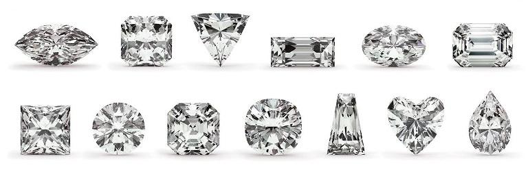 loose diamond shape