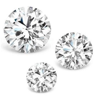 round cut diamonds