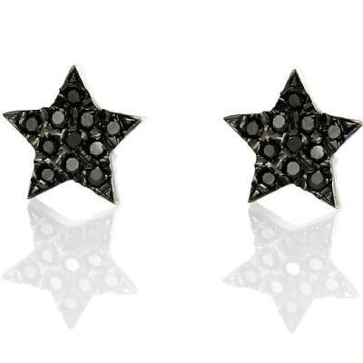 stud star earrings