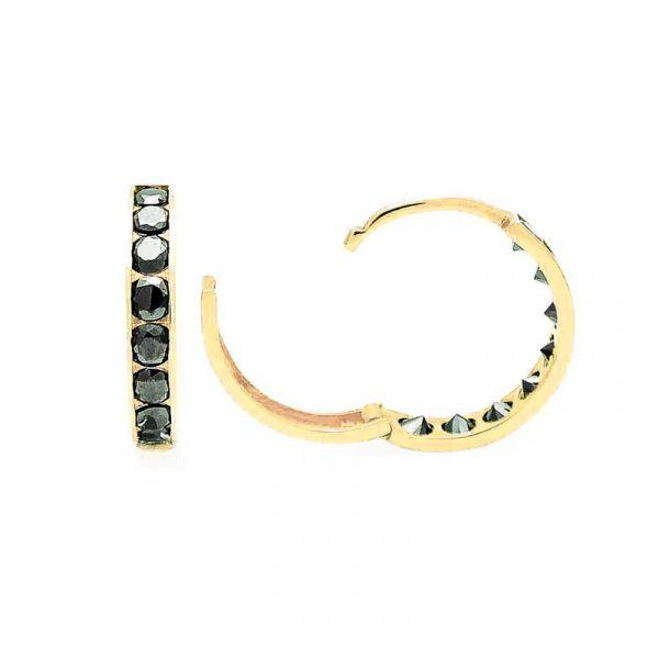Huggie earrings (5)