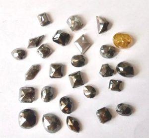 Salt and pepper diamonds