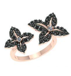 Antique black diamond ring