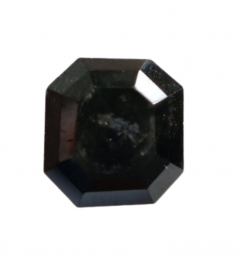 Asscher Cut Black Diamond