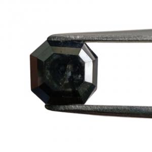 Asscher Cut Black Diamond