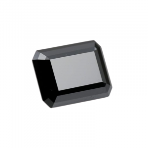 Emerald black diamond