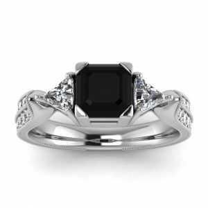 asscher cut ring
