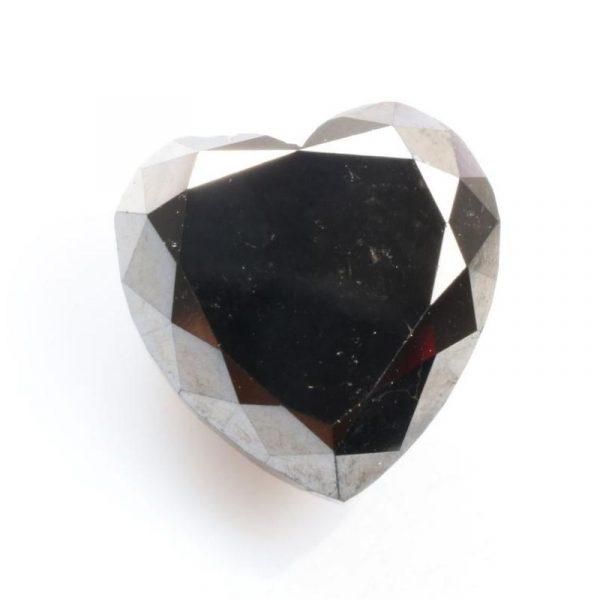 heart black diamond