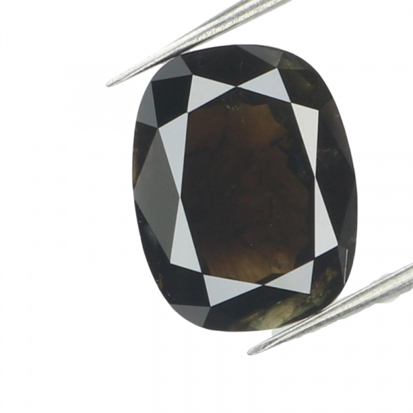 oval black diamond