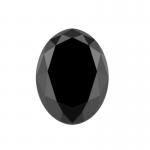 oval black diamond