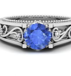Tanzanite Gemstone ring-gemone (4)