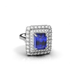 Genuine Tanzanite Ring