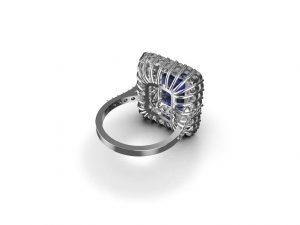 Genuine Tanzanite Ring
