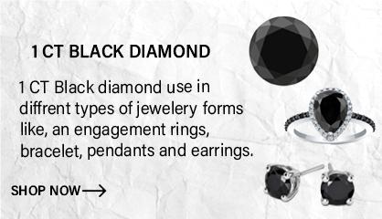 1ct Black Diamonds
