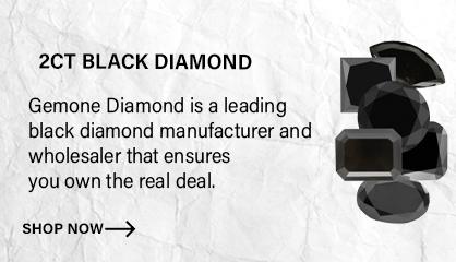 2ct Black Diamonds