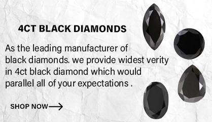 4ct black diamonds