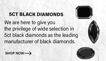 5 carat Black Diamonds