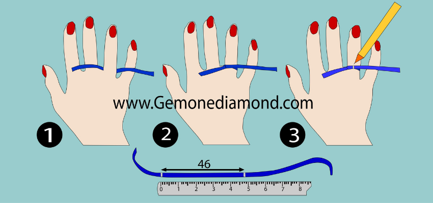 measure ring size at home