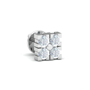 mens diamond earring