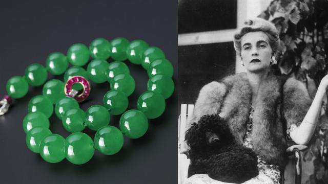9. The Hutton-Mdivani Jadeite Necklace