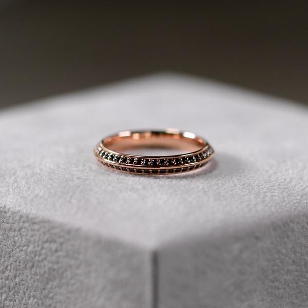 double eternity wedding ring