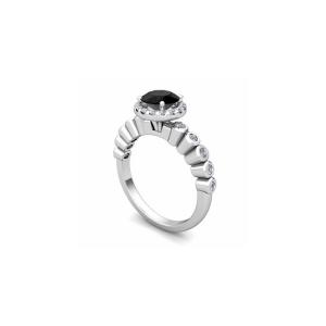 bridal set halo ring