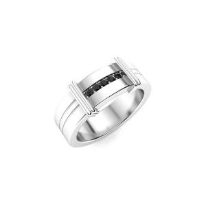 black diamond ring for men