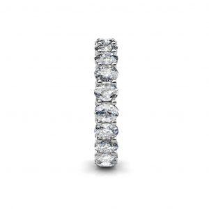 oval cut diamond wedding ring