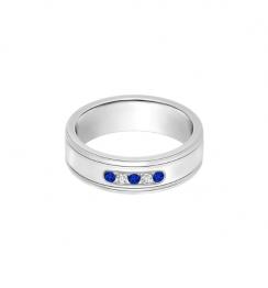 wedding sapphire ring